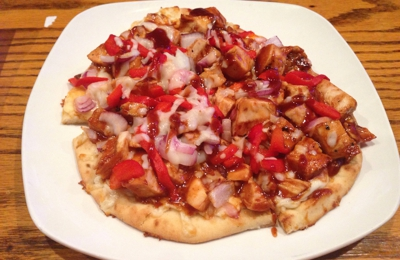 Four Corners Restaurants - Chapel Hill, NC. BBQ Chicken Flat Bread