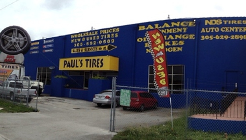 Paul's Tire Pros - Miami, FL