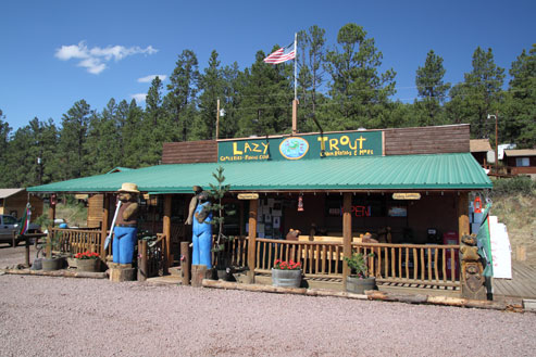 Lazy Trout Market, Motel and Cabin Rentals, Greer AZ
