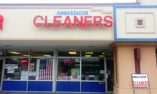 Ambassador cleaners ballwin mo 63011 for A m salon equipment st louis mo