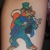 Inflicting Beauty Tattoo