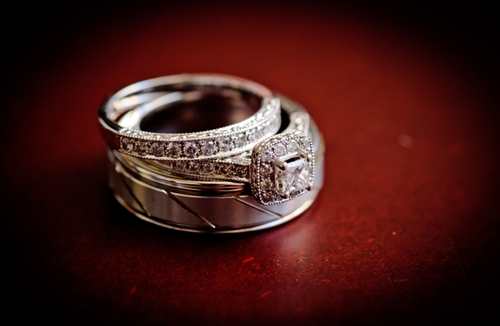 Wedding rings are pretty expensive, so many people opt to have them insured.