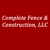 Complete Fence & Construction, LLC