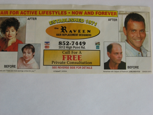 Raveen Hair Replacement Designer - Greensboro, NC