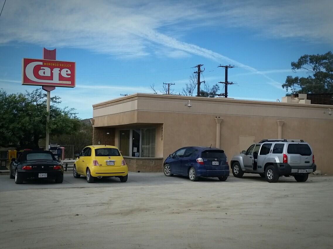 Morongo Valley Cafe, Morongo Valley CA