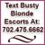 Busty Blonde Vegas Escorts