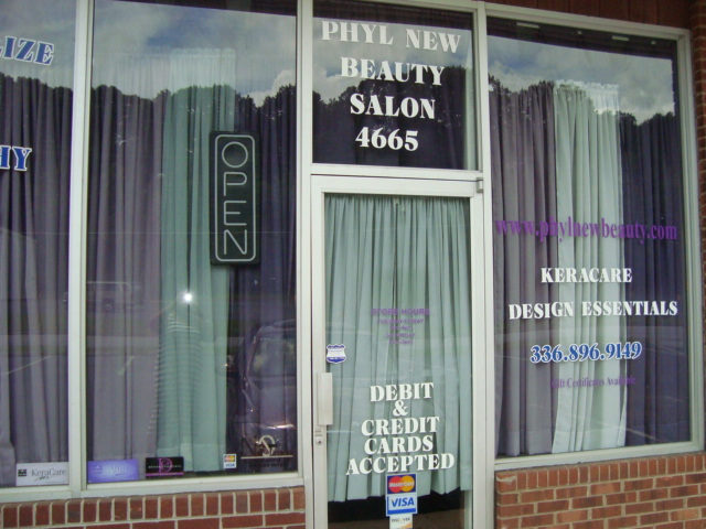 Phyl New Beauty Salon, Winston Salem NC