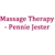 Massage Therapy - Pennie Jester