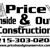 Price Inside N Out Construction