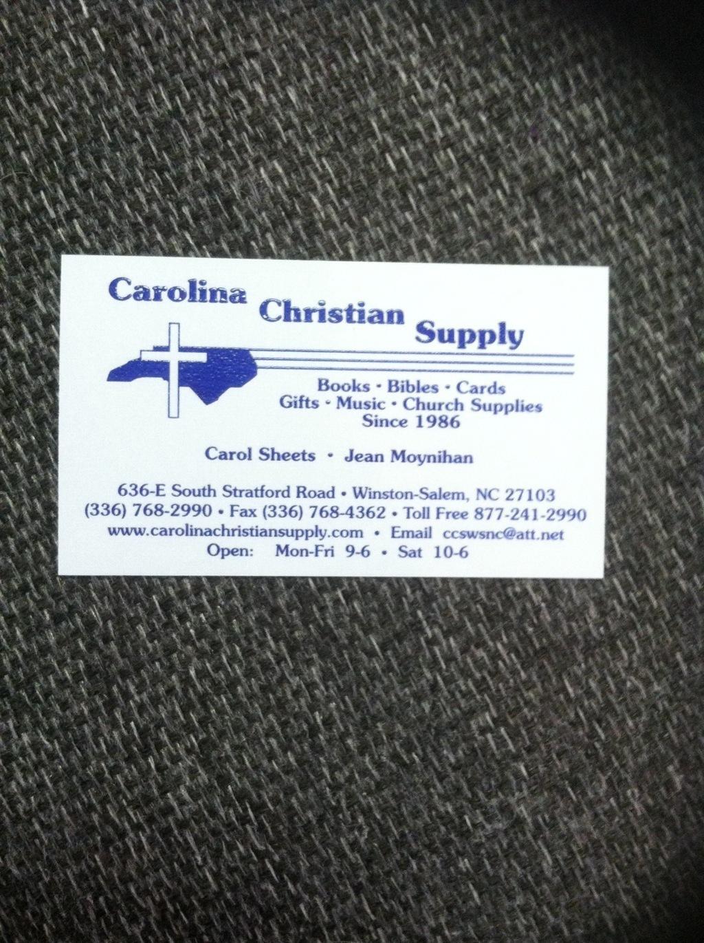 Carolina Christian Supply