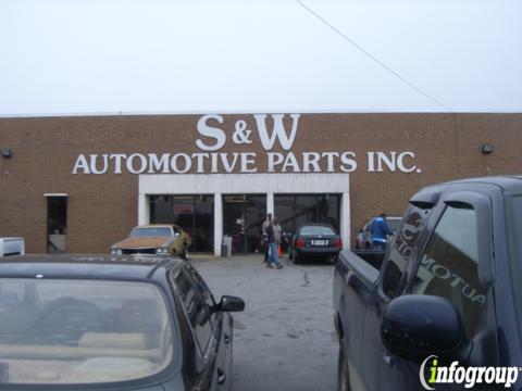 S Amp W Auto Parts Lithonia Ga 30058 Yp Com