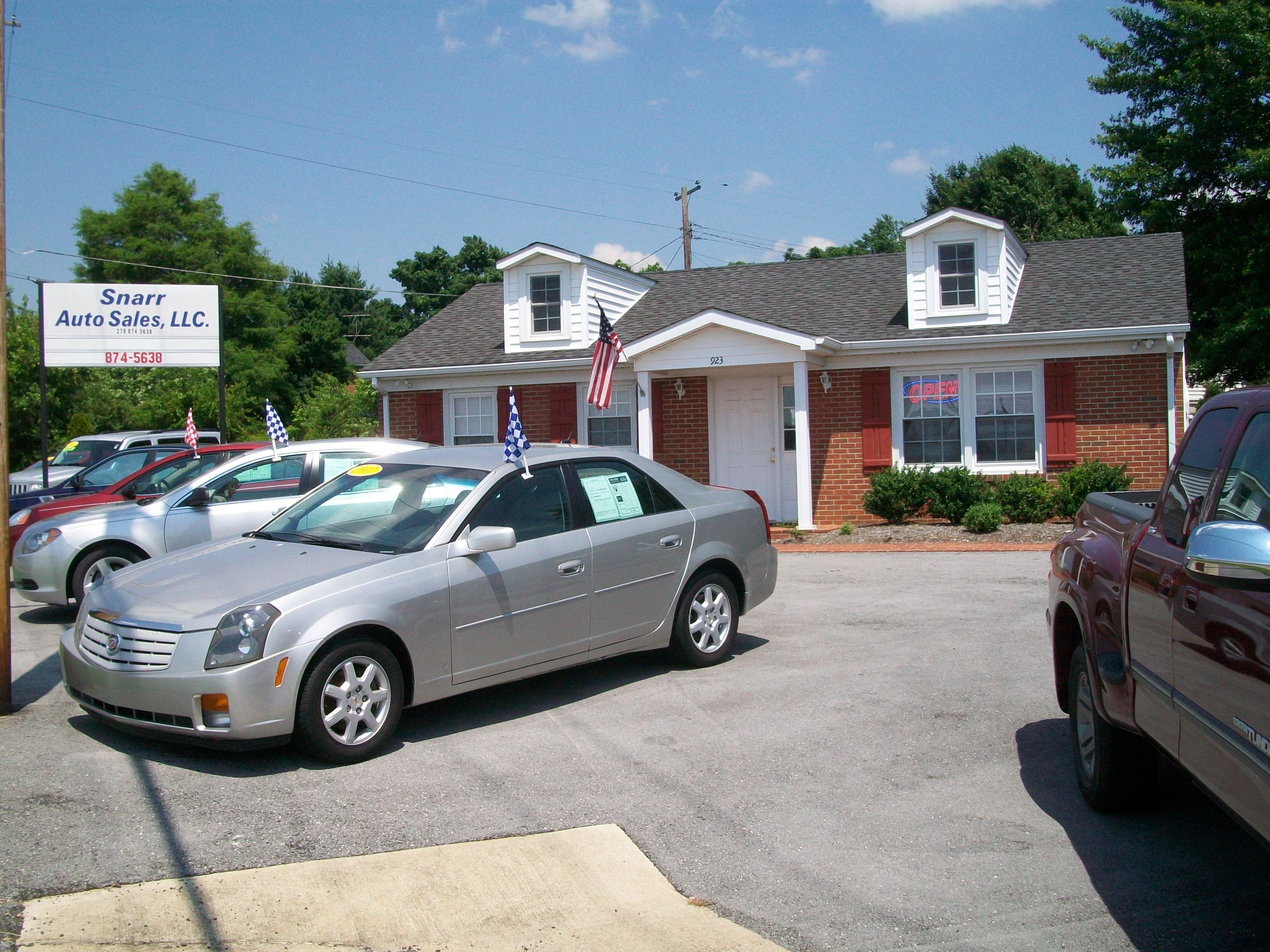 Snarr Auto Sales LLC, Hopkinsville KY