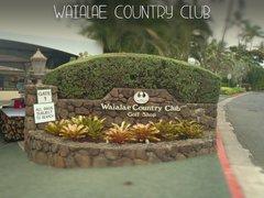 Waialae Country Club, Honolulu HI