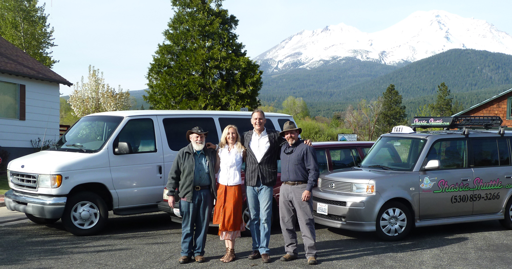 Shasta Shuttle, Taxi, and Tours, Mount Shasta CA
