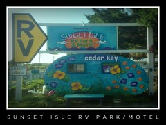 Sunset Isle RV Park & Motel, Cedar Key FL