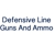 Defensive Line Guns And Ammo