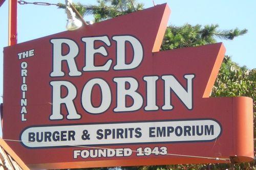 Red Robin Gourmet Burgers, National City CA