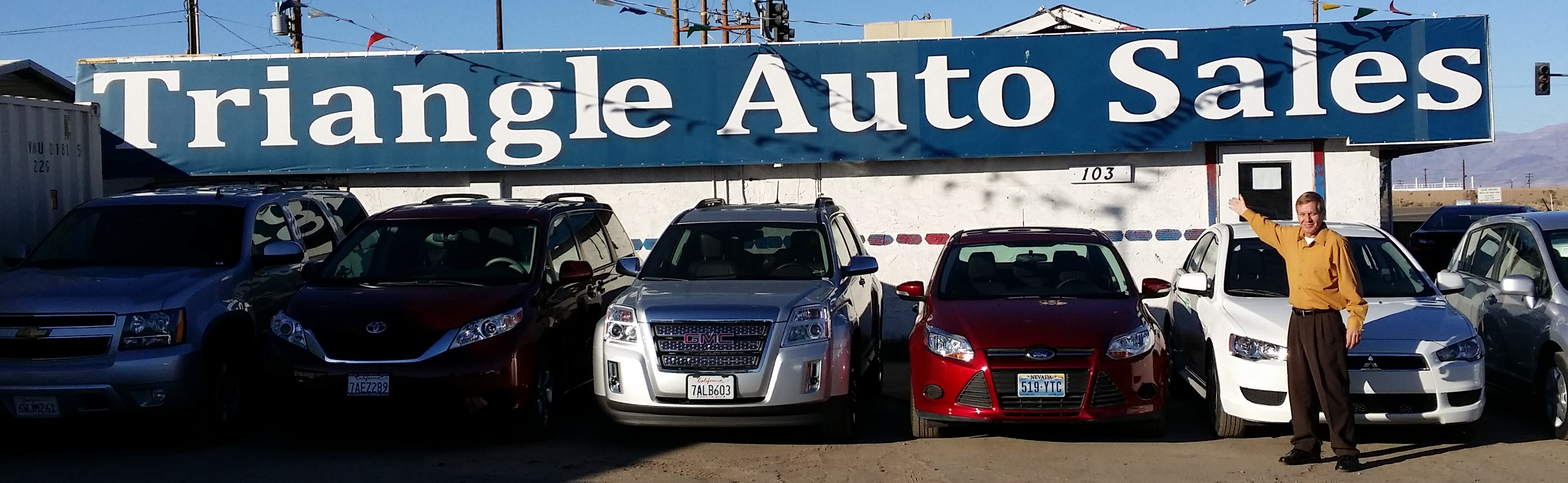 Triangle Auto Sales, Ridgecrest CA