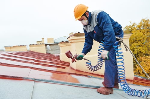 Coatings can add to the energy efficiency of a metal roof.