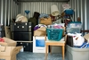 Self storage units come in a variety of sizes for renters' needs.