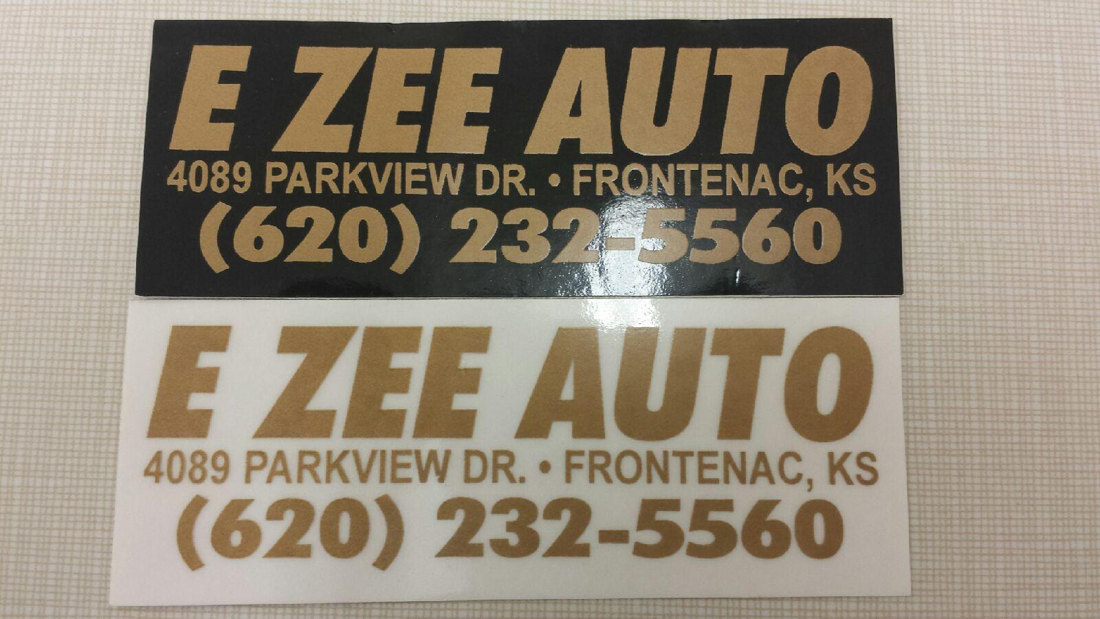 Ezee Auto, Frontenac KS