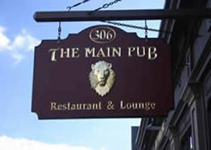 Main Pub & Restaurant, Manchester CT