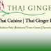Thai Ginger Restaurants