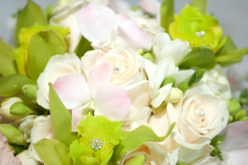 Create DIY wedding flowers for complete control over your floral arrangements.