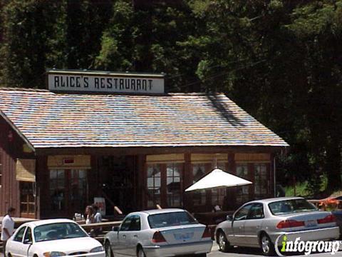 Alice's Restaurant, Redwood City CA