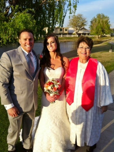 Pastor Gina Wind Wedding Officiant Apple Valley Ca