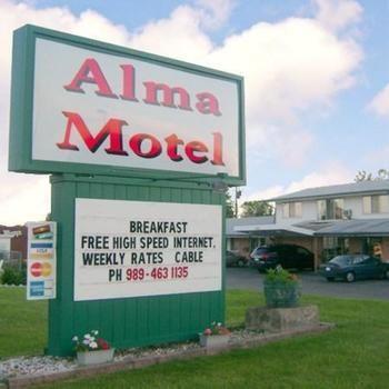 Alma Motel, Alma MI