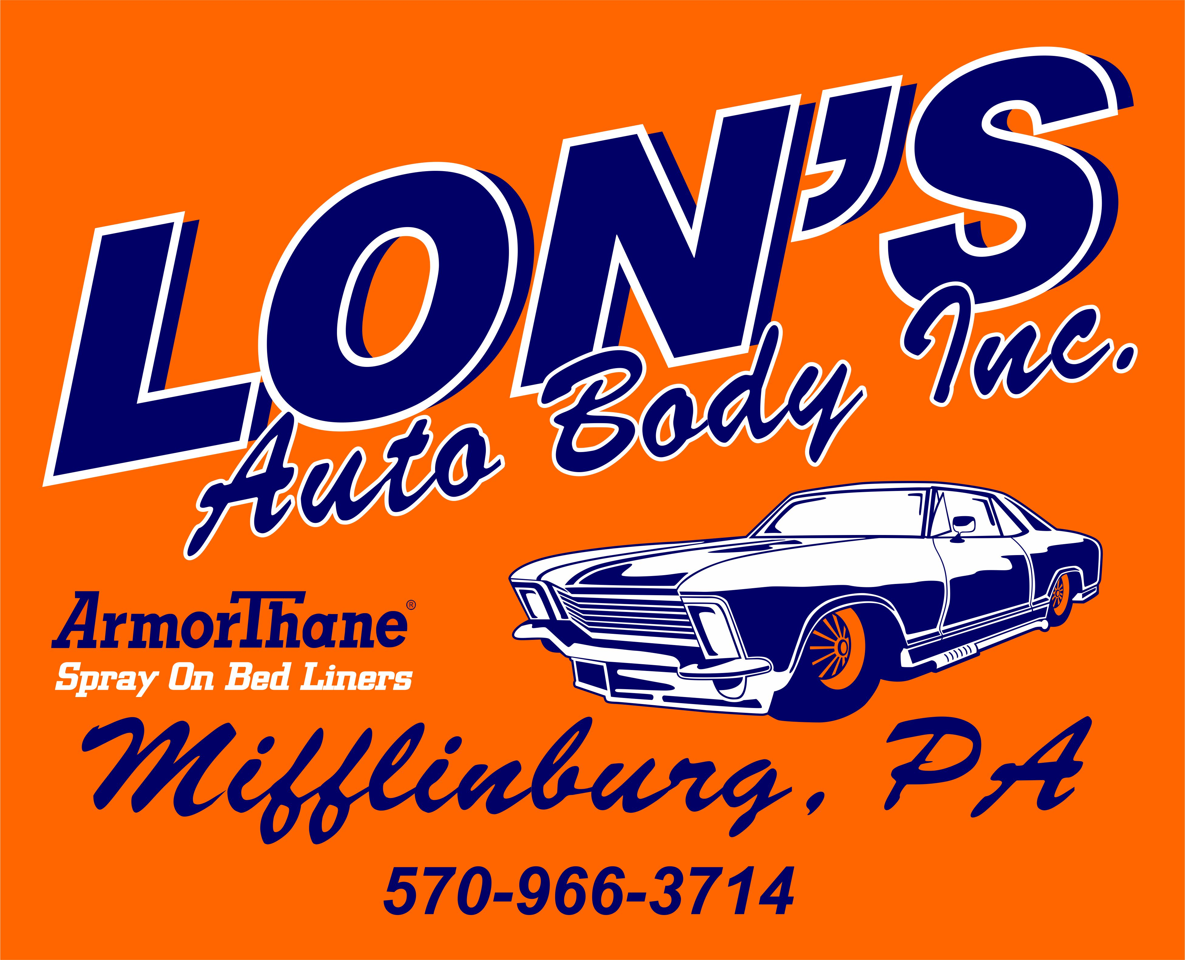 Lon's Auto Body Inc., Mifflinburg PA