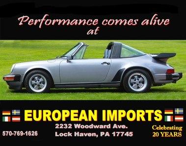 European Imports, Lock Haven PA
