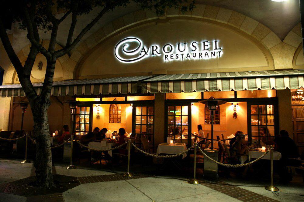 Carousel Restaurant, Glendale CA