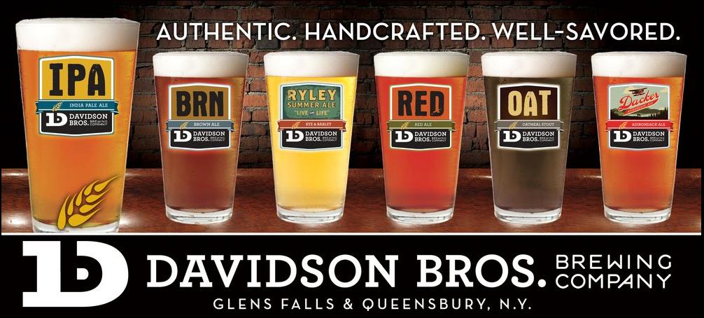 Davidson Brothers Brewing, Glens Falls NY