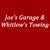 Joe's Garage And Whitlows Towing LLC