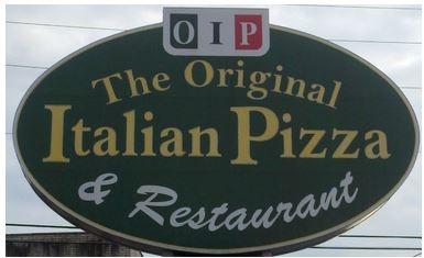 Original Italian Pizza, Mill Hall PA