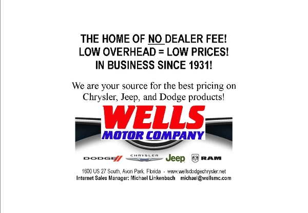 Wells Motor Company Avon Park Fl 33825