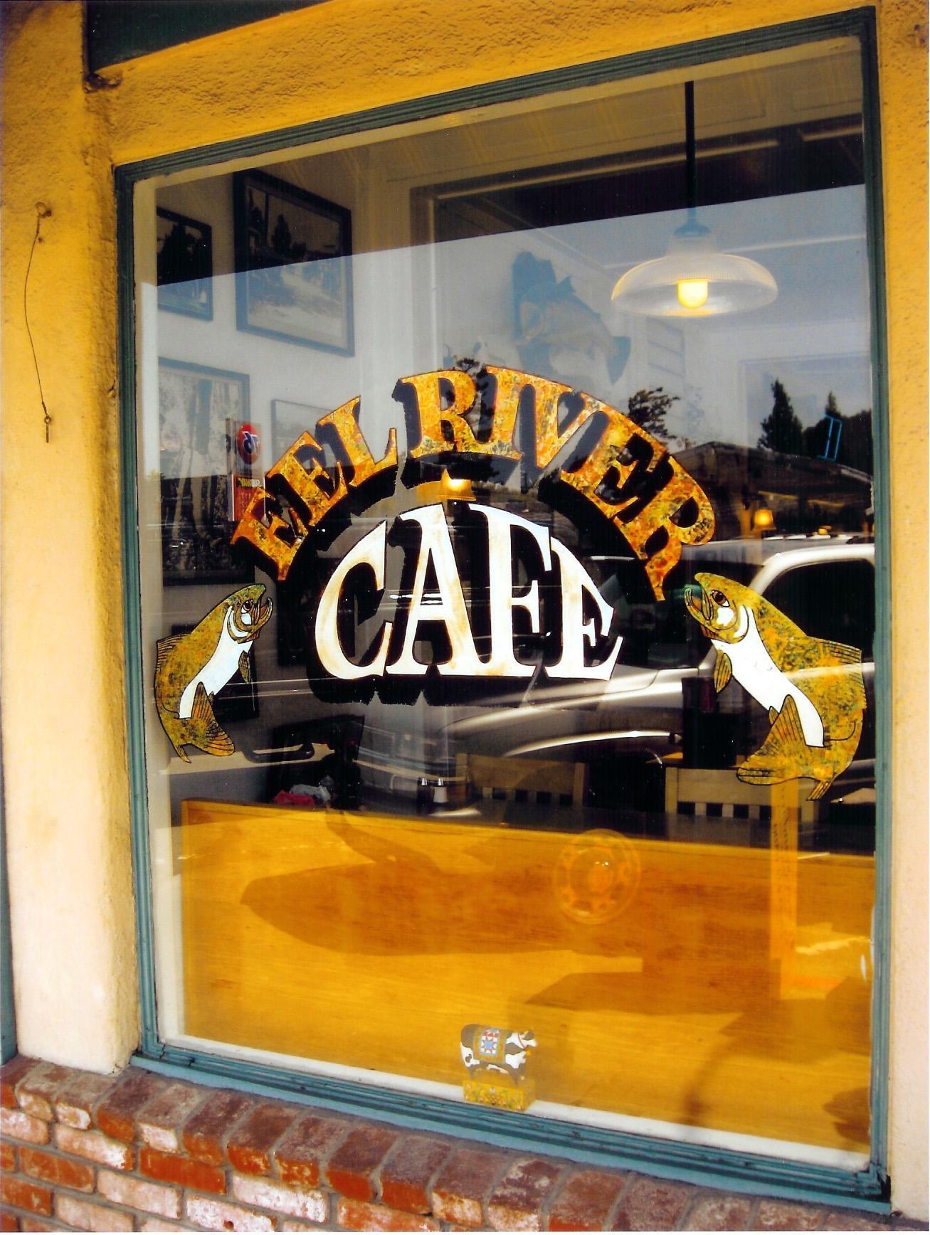 Eel River Cafe, Garberville CA