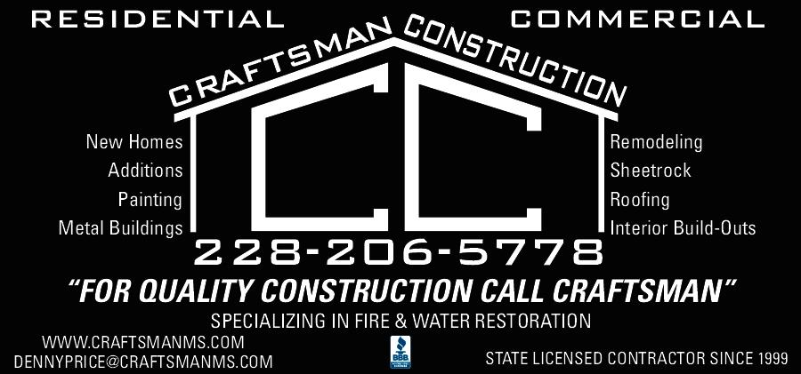 Craftsman Construction Gulfport Ms 39503 Yp Com