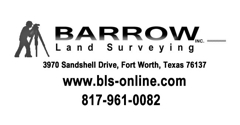 Barrow Surveying - Fort Worth, TX. Fort Worth Land Surveying co.