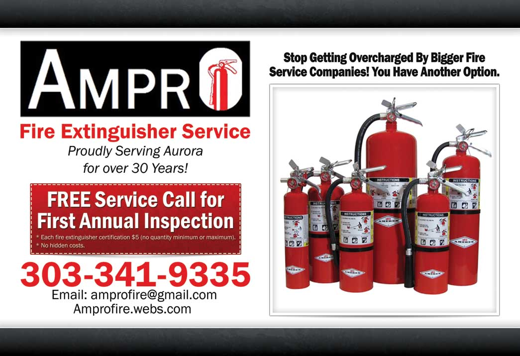 Ampro Fire Extinguisher Service 1360 Boston St, Aurora, CO 80010 ...