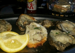 Steamhouse Lounge - Atlanta, GA. Parmesean Oysters