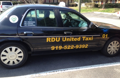 RDU United taxi - Raleigh, NC