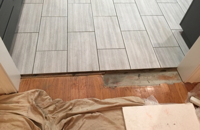 Ben Baker Flooring - Ozark, AL. Said this was how this was supposed to look???? Really