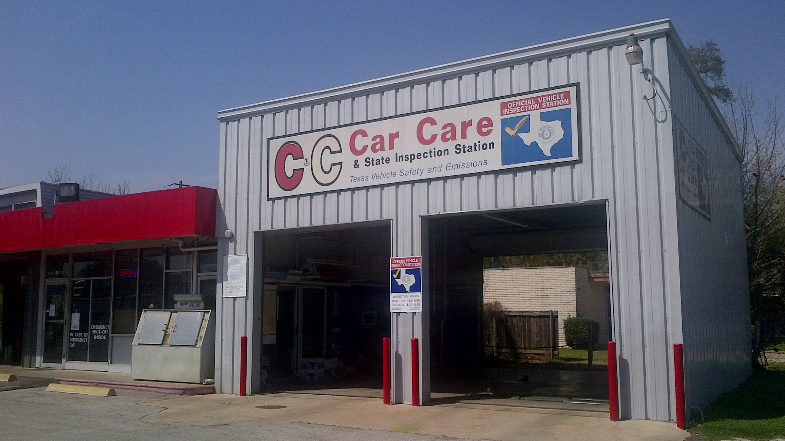 C C Car Care And State Inspection Station 8500 Long Point Rd