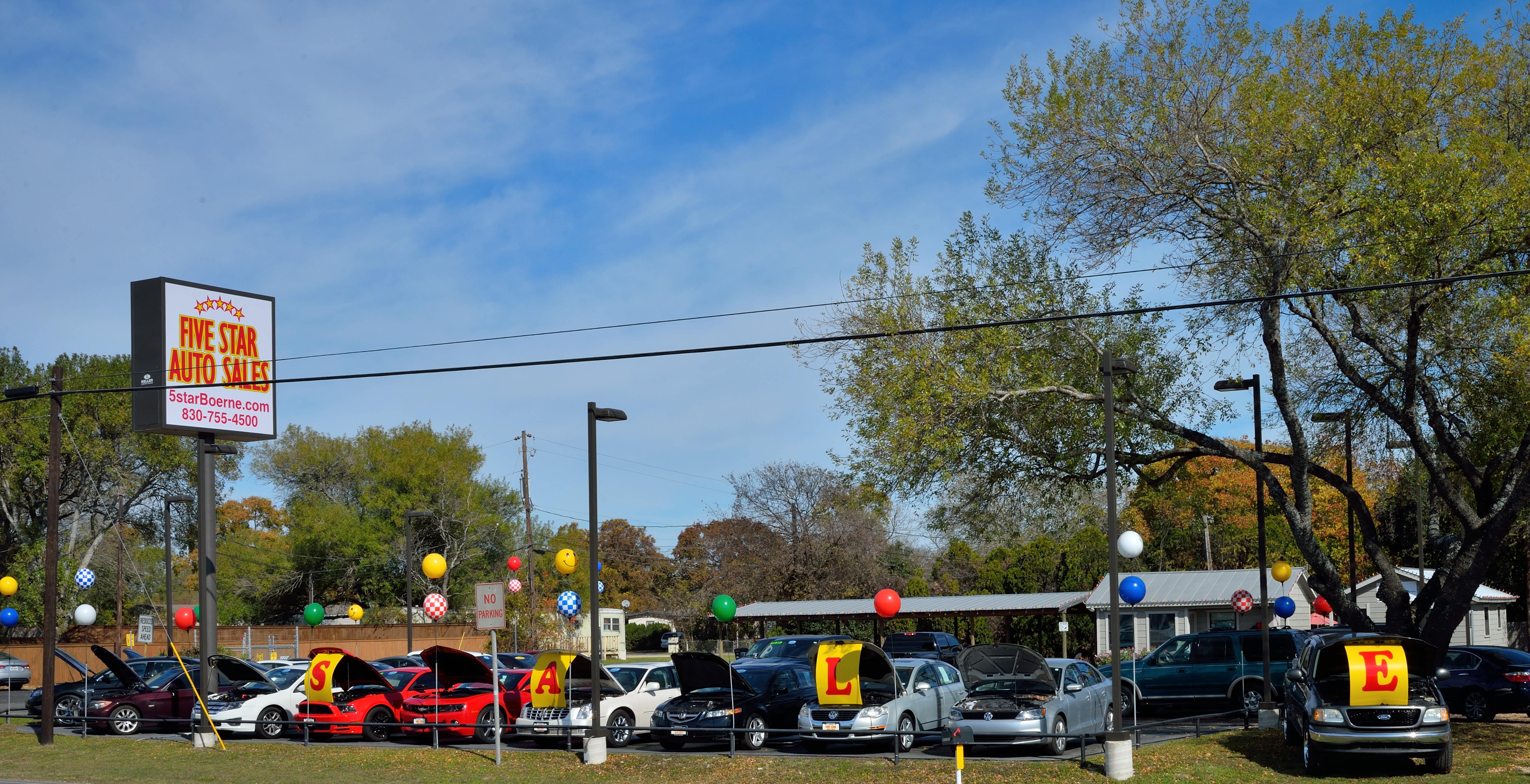 Five Star Auto Sales Interstate 10 W Boerne TX YP
