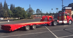 A or B CDL Drive Test Equipment Rental, Inc. - Loomis, CA. Low profile trailer