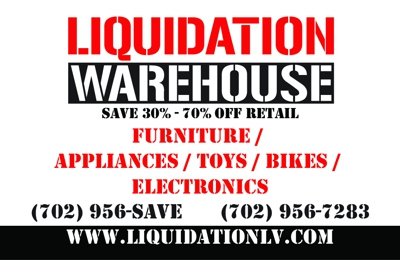 Liquidation Warehouse 1201 American Pacific Dr Ste B