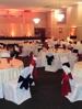 Stunning Black, White & Red Wedding Reception